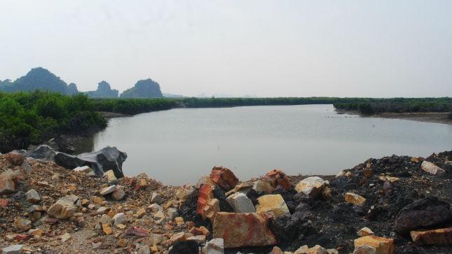 Bãi hoang thành đất nuôi trồng thủy sản để rút tiền bồi thường?