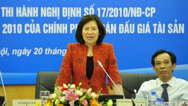 Thứ trưởng Nguyễn Thúy Hiền chủ trì Hội nghị
