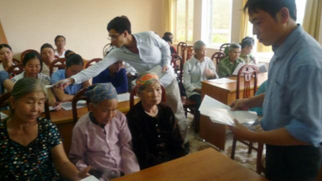 Trợ giúp pháp lý lưu động tại huyện Hoành Bồ, Quảng Ninh.