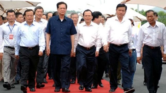 Thủ tướng Nguyễn Tấn Dũng dự Lễ khánh thành cầu Vĩnh Thịnh