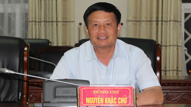 Phó Bí thư Tỉnh ủy, Chủ tịch UBND tỉnh Lai Châu Nguyễn Khắc Chử