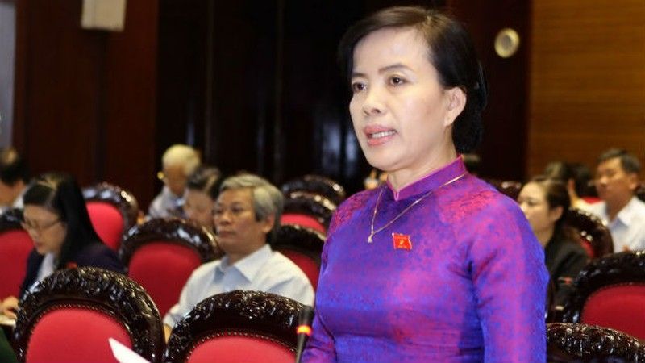 """Đại biểu Nguyễn Thị Kim Thúy (Đà Nẵng): """"Không nên nhìn Luật Quốc tịch dưới góc độ quản lý nhà nước mà là quyền công dân"""""""