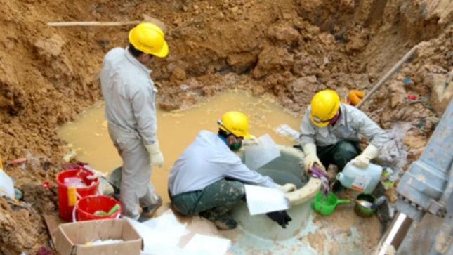Khắc phục sự cố vỡ đường ống dẫn nước Sông Đà lần thứ 7