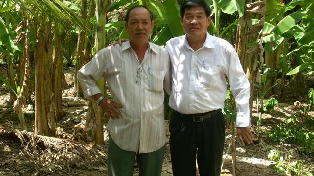 Nhạc sĩ Vũ Tuân và Thiếu tướng công an Hồ Việt Lắm