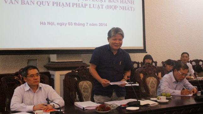 Bộ trưởng phát biểu tại Phiên họp thứ 3