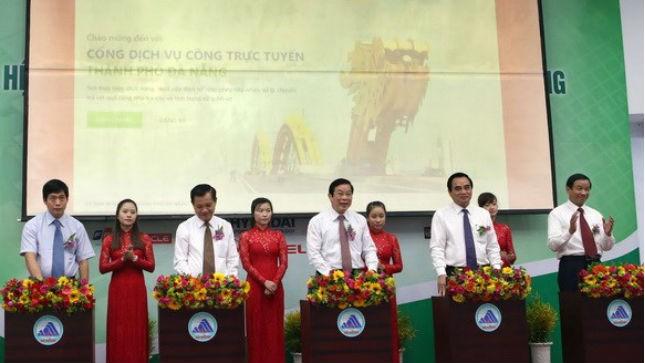 Khai trương Hệ thống thông tin Chính quyền điện tử Đà Nẵng