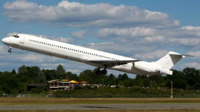 Máy bay MD-83 của Swiftair trước khi gặp nạn. Ảnh Internet