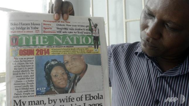 Dịch Ebola đang là nỗi sợ hãi của các nước trên thế giới