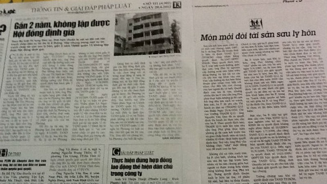 """TAND Quận 12, TP.Hồ Chí Minh: """"Ngâm"""" án đến bao giờ?"""