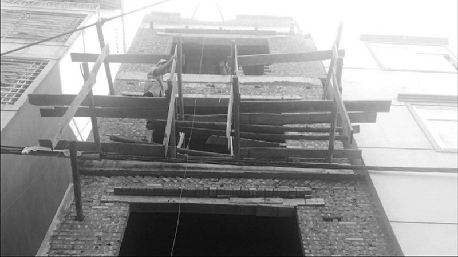 Đại công trình xây dựng không phép đang được gấp rút hoàn thiện