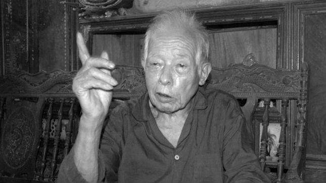 Ông Triệu Văn Sinh - gia đình người có công, từng  tham gia phục vụ cách mạng giai đoạn 1942-1945