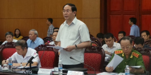 Bộ trưởng Bộ Công an Trần Đại Quang