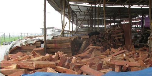 """""""Trùm"""" Minh """"sâm"""" bị bắt, ai quản lý chợ gỗ Phù Khê và Đồng Kỵ?"""
