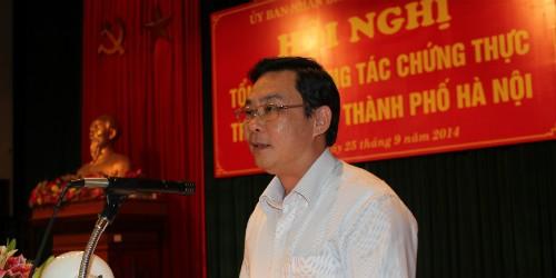 Hà Nội: Đề xuất giao thêm quyền cho UBND cấp xã trong công tác chứng thực