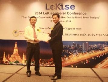 Todimax phân phối độc quyền sản phẩm lekise
