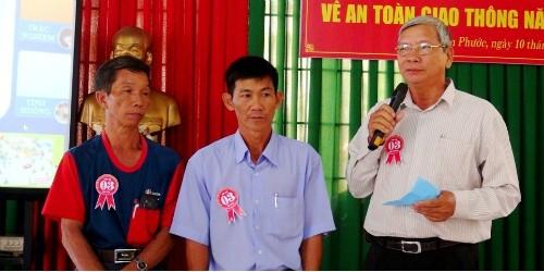 Hội thi do Ban An toàn giao thông huyện Long Thành tổ chức