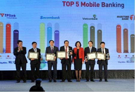 VietinBank đoạt giải Mobile Banking và ngân hàng điện tử được quan tâm nhất