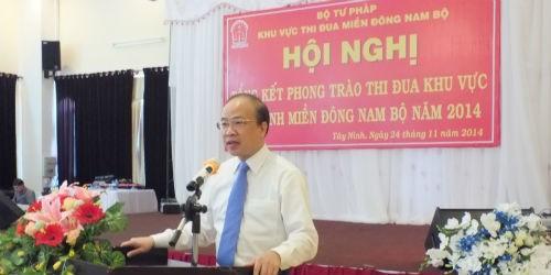 Tư pháp, THADS các tỉnh khu vực miền Đông Nam bộ tổng kết công tác thi đua