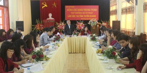 Tuyên Quang: Tư pháp và Thi hành án vượt khó, hoàn thành xuất sắc nhiệm vụ