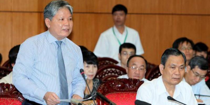 Bộ trưởng Hà Hùng Cường phát biểu tại phiên họp