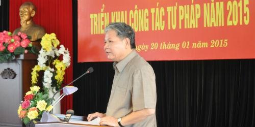Tư pháp Phú Yên cần chú trọng công tác hòa giải cơ sở