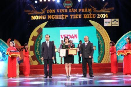 Sản phẩm của công ty Vedan được tôn vinh