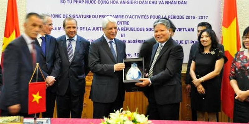 Tư pháp Việt Nam – Algeria: Tăng cường hợp tác toàn diện