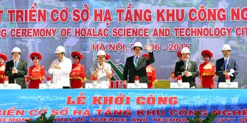 Thủ tướng Chính phủ đặt nhiều hi vọng vào KCNC Hòa Lạc