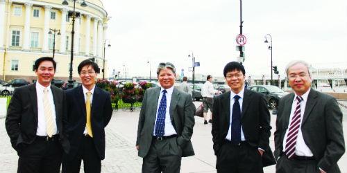 Bộ trưởng Hà Hùng Cường cùng đoàn công tác tới thăm và làm việc tại Trường Mgimo