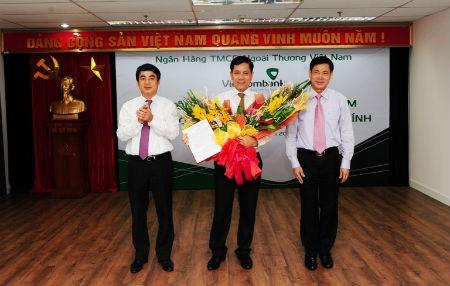 Vietcombank bổ nhiệm Giám đốc Công ty TNHH Cho thuê tài chính