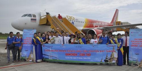 Khai trương đường bay Cần Thơ – Bangkok