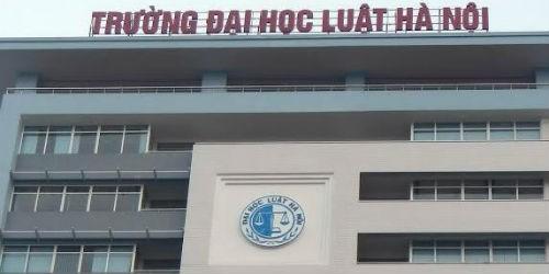 Trường đại học luật Hà Nội: Thông báo tuyển sinh