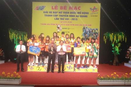 Kết thúc Giải xe đạp nữ Cúp truyền hình An Giang – Number 1