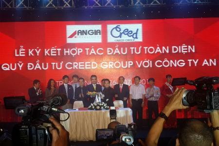 Creed Group đầu tư 200 triệu USD vào Cty An Gia
