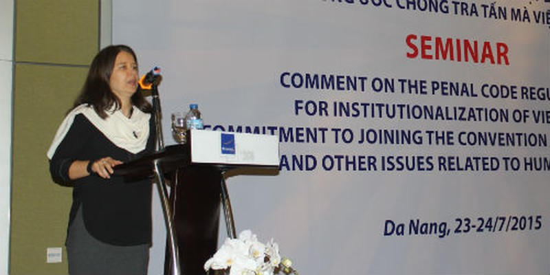 Sửa Bộ luật Hình sự theo tinh thần Công ước quốc tế
