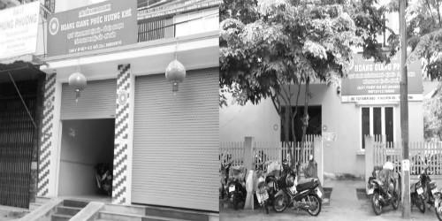 Cơ sở Hoàng Giang Phúc, Hương Khê và Cơ sở tại TP.Hà Tĩnh