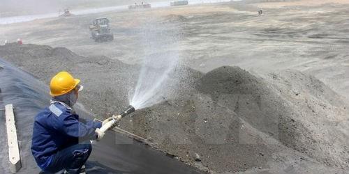Tăng cường giải pháp xử lý chất thải của các nhà máy nhiệt điện