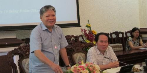 Bộ trưởng Hà Hùng Cường phát biểu tại buổi gặp mặt