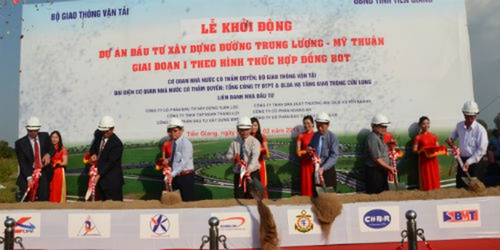 Sau hơn nửa năm tái khởi động, Dự án BOT Trung Lương – Mỹ Thuận vẫn chưa huy động được đủ vốn