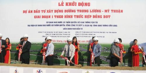 Nhiều sai phạm nghiêm trọng tại dự án đường cao tốc Trung Lương - Mỹ Thuận