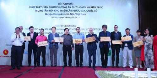 Cuộc thi thu hút sự tham gia của nhiều công ty kiến trúc uy tín