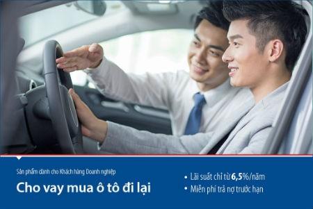 Ngân hàng Bản Việt cho vay mua ô tô lãi suất chỉ 6,5%/năm
