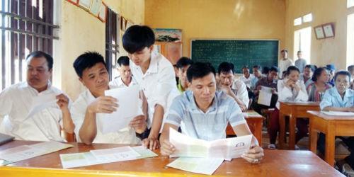 Tuyên truyền pháp luật qua trợ giúp pháp lý lưu động tại tỉnh Phú Thọ. Ảnh minh họa