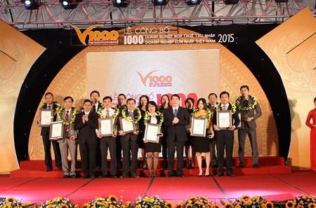 """Vedan được vinh danh """"Top 50 doanh nghiệp thành tựu xuất sắc"""""""