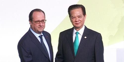 Thủ tướng Nguyễn Tấn Dũng dự phiên khai mạc COP21