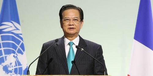 Toàn văn phát biểu của thủ tướng Nguyễn Tấn Dũng tại COP 21