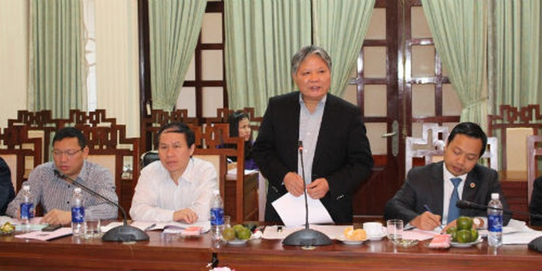 Bộ trưởng Hà Hùng Cường làm việc với Tỉnh ủy, HĐND, UBND tỉnh Thừa Thiên Huế
