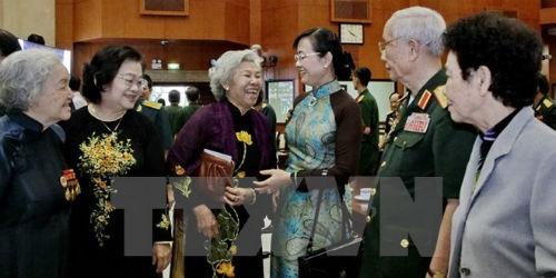 Bày tỏ sự tri ân tướng lĩnh, cán bộ quân đội đã nghỉ hưu