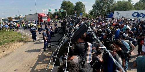 Đường biên giới của khu vực Schengen đang trở nên vô cùng mỏng manh