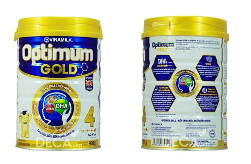 Đánh giá sữa Optimum Gold số 4 giúp bé thông minh, ít ốm vặt
